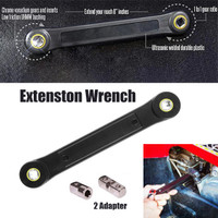 """Universal 1//4/"""" 3//8/"""" Extension Wrench Adapter Tools Wrench-sleeve Socket Converte"""