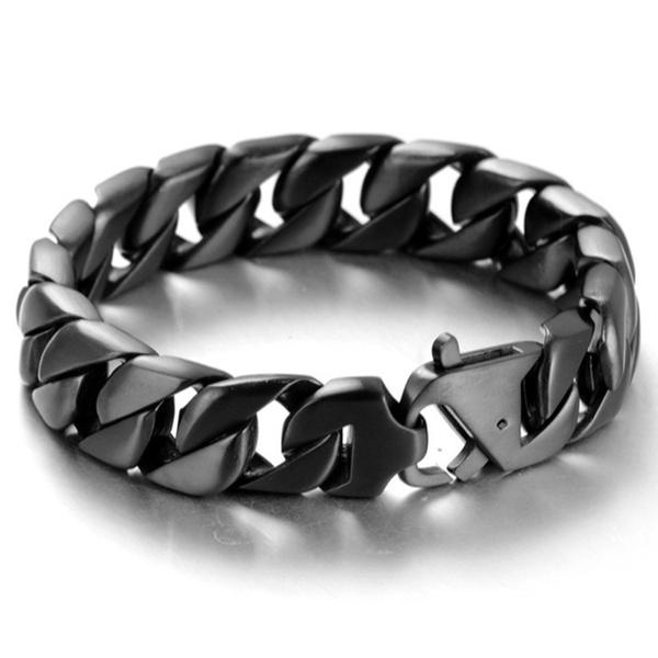 black bracelet, hip hop jewelry, Jewelry, Chain