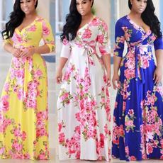 Plus Size, partydressesforwomen, long dress, plus size dress