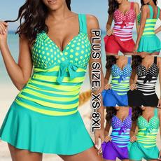 Women, Plus Size, bikini set, Plus Size Swimwear
