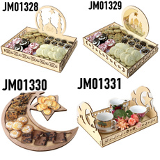 Decor, ramadandecor, Wooden, pastrytray