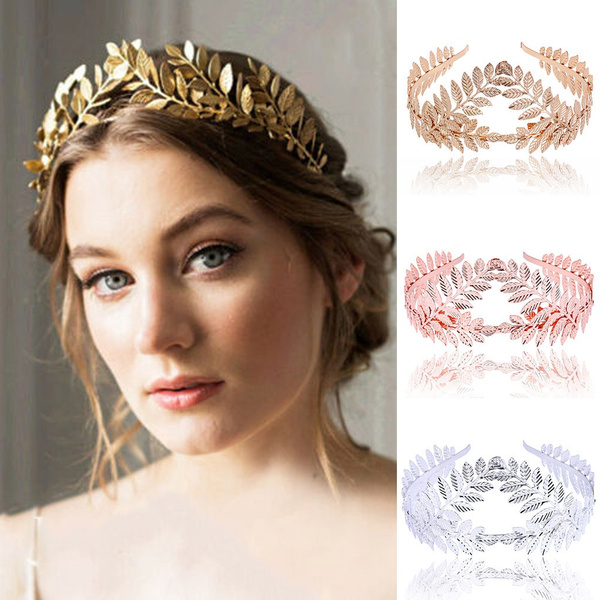 leafflowerheadband, crownhairband, Head, Flowers