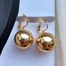 Ball, Jewelry, gold, silver plated