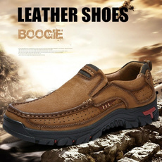 casual shoes, Outdoor, leather shoes, genuine leather