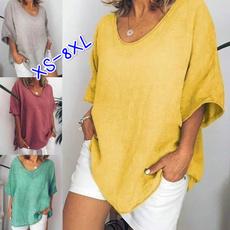 Tops & Tees, Plus Size, Summer, short sleeves