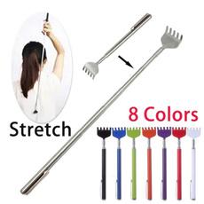 Steel, Stainless Steel, backscratcher, extendablebackscratcher