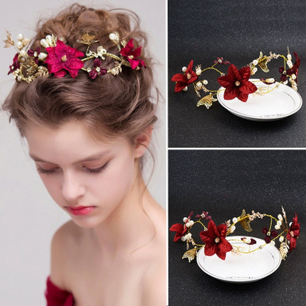 Head Bands, hair jewelry, gold, Hair Band