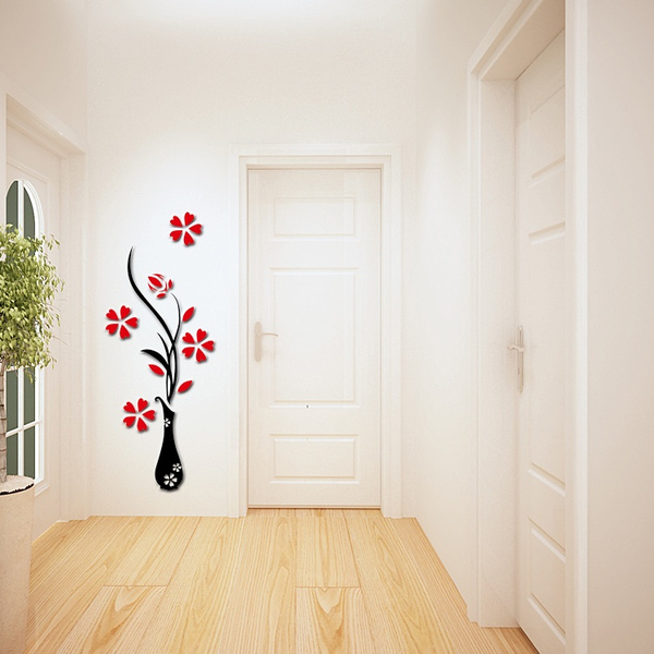 Fashion wall sticker, Stickers, Vases, Home