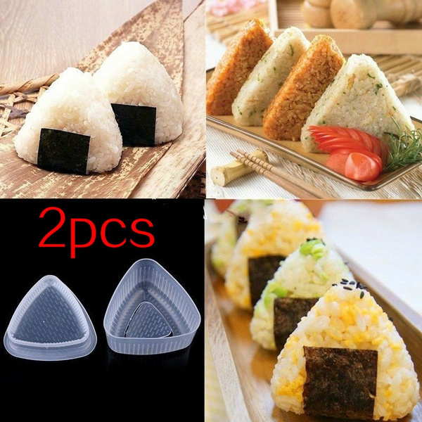 Sushi, Triangles, foodmould, sushimold