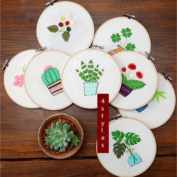 Decor, Sewing, Bamboo, Needles