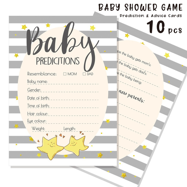 babyshowergame, babystuff, advicecard, adviceandpredictioncard