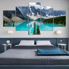 Canada, banffposter, art, canvasposter