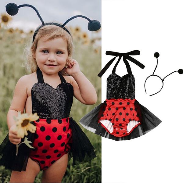 Summer, toddlerbabygirltutudres, babygirlslittleladybugdres, Dress