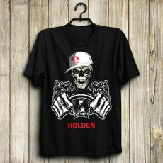 holden, Fashion, Cotton T Shirt, skull