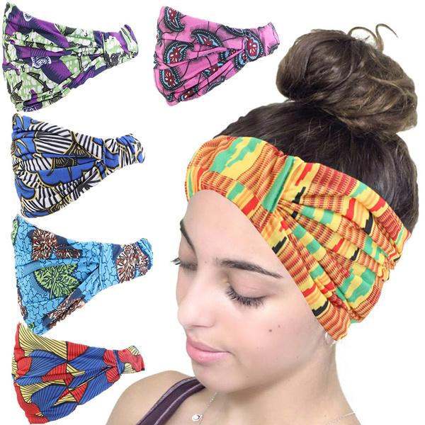 africanprint, Head, Fashion, Elastic