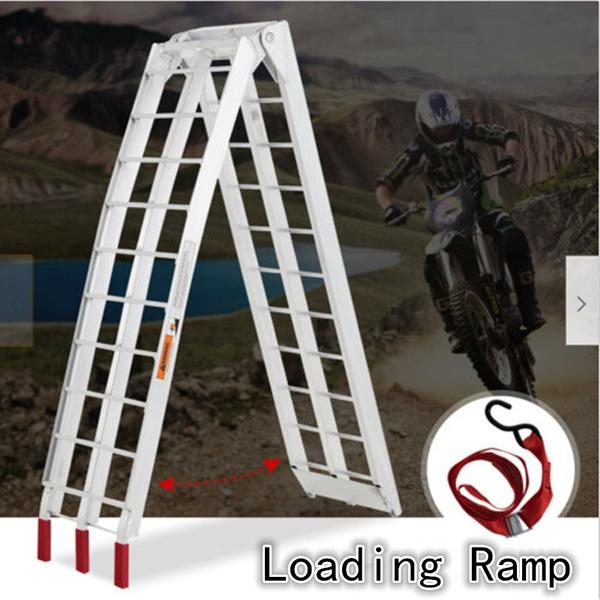 Capacity, motorcycleramp, Aluminum, trailerloadingramp