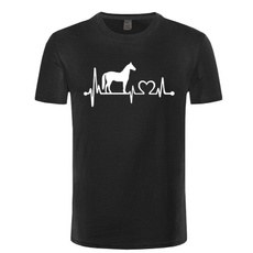 Funny, horse, Fashion, Shirt
