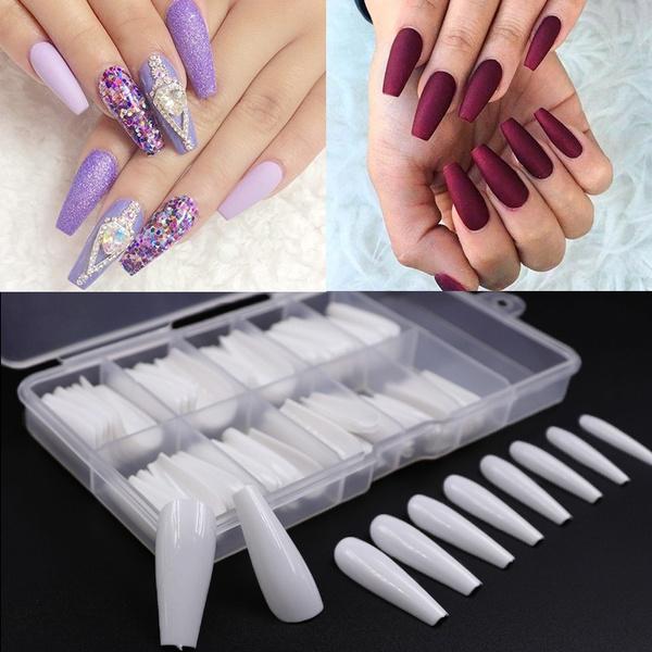 Ballet, nail tips, pressonnail, Beauty