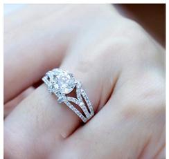 Sterling, Wedding, Fashion, wedding ring