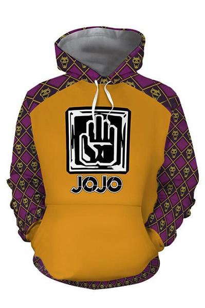 jojo, 3D hoodies, Fashion, Cosplay