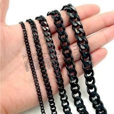 cubanchainnecklace, Steel, Chain Necklace, mens necklaces