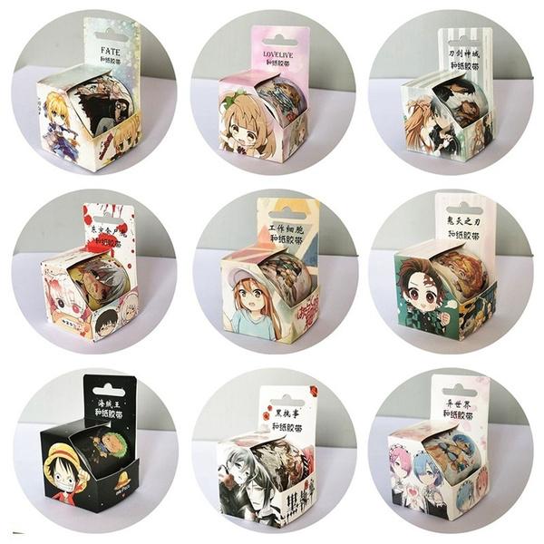 Kawaii, Adhesives, washitape, Stickers