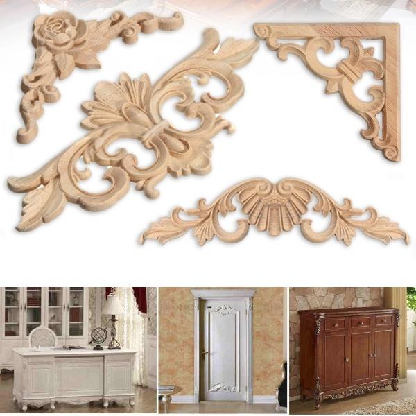 woodcornerframe, Wood, Decor, Home Decor