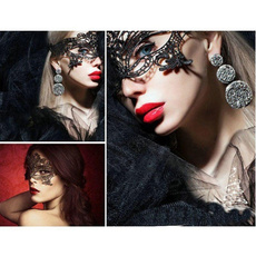 Fashion, Cosplay, Lace, black lace