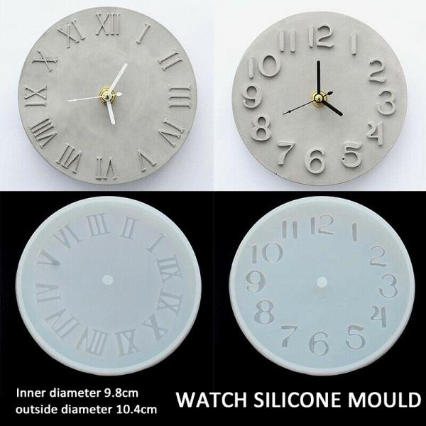 clockmakingmould, Clock, Silicone, Clay