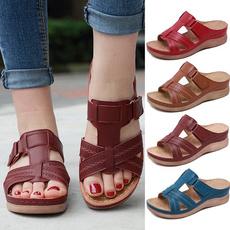 Summer, Flip Flops, Sandals, Vintage