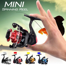 Mini, spinningreel, spinningfishingreel, Outdoor