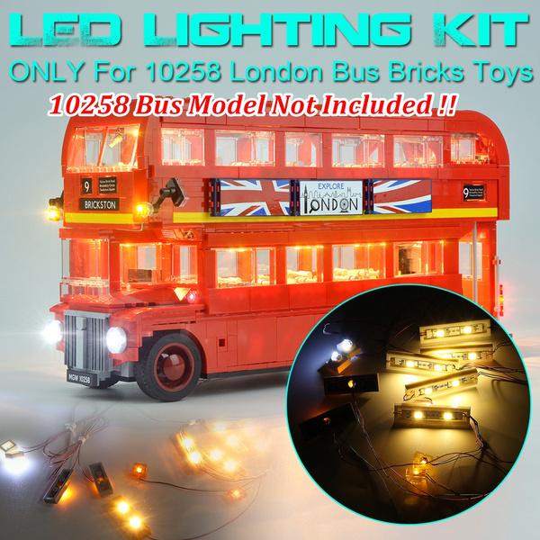 lego10258, londonbusbuilding, Toy, led