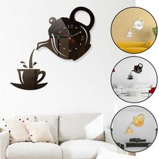 diyacrylicwallclock, Home & Kitchen, creativepersonalitydecoration, Fashion