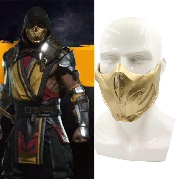 mortal kombat 11 scorpion without mask