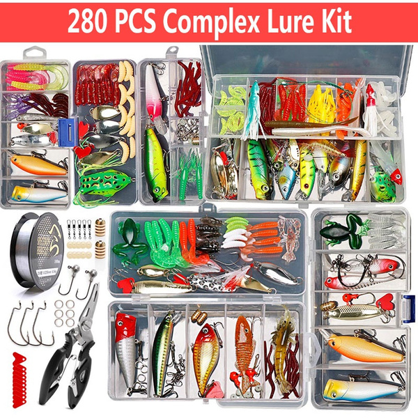 bait, Fishing Lure, Metal, Kit