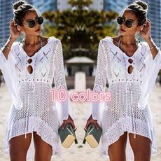 Chiffon Summer Shirt, Summer, Fashion, women swimsuit