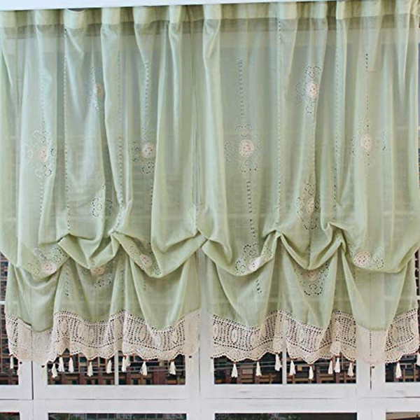 Balloon Curtains Tie Up Adjustable, Balloon Curtains For Living Room