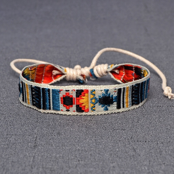 bohemia, Vintage, ethnicbracelet, rope bracelet