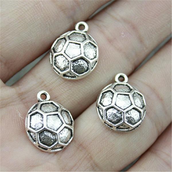 Antique, Soccer, diyjewelry, Fashion