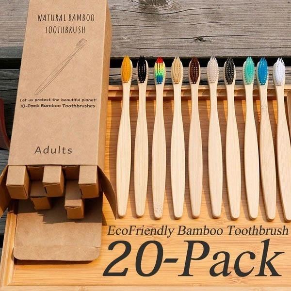Charcoal, dentalcare, rainbow, Wooden