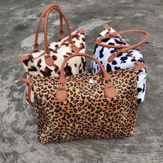 cowprintweekenderbag, womenbagstote, cow, Totes