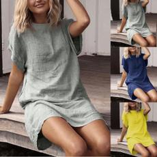 sleeveless, short sleeve dress, Necks, Sleeve