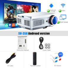 Hdmi, portableprojector, Home & Office, wifiprojector