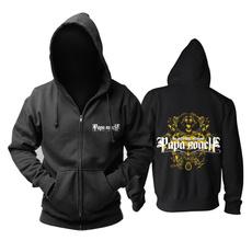 hooded, pullover hoodie, black hoodie, rockandrollbandhoodie
