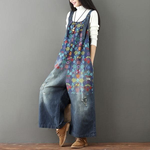 denim dress, Jeans, Flowers, overallspant