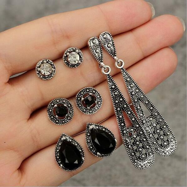 fashion women, Jewelry, Stud Earring, Vintage