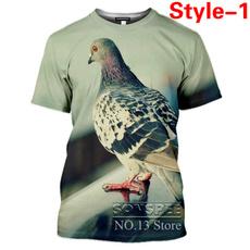 Kawaii, Summer, pigeontshirt, birdtshirt