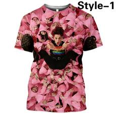 Hip Hop, Summer, Polyester, Fashion