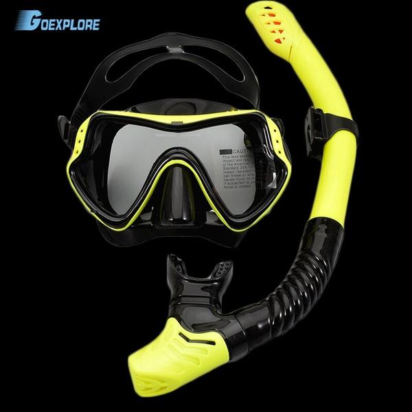 divingmask, Swimming, antifog, scubamask