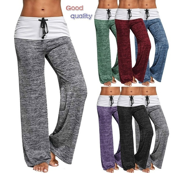 Women Pants, heathergreypant, Yoga, Waist
